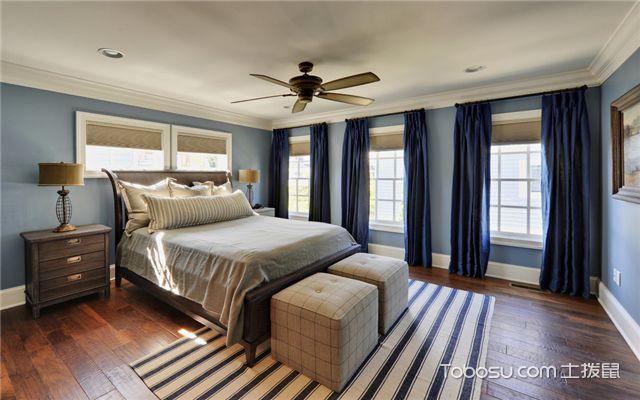 卧室窗帘搭配技巧之墙面装饰