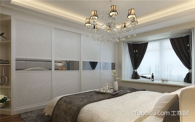 卧室窗帘搭配技巧之深色窗帘