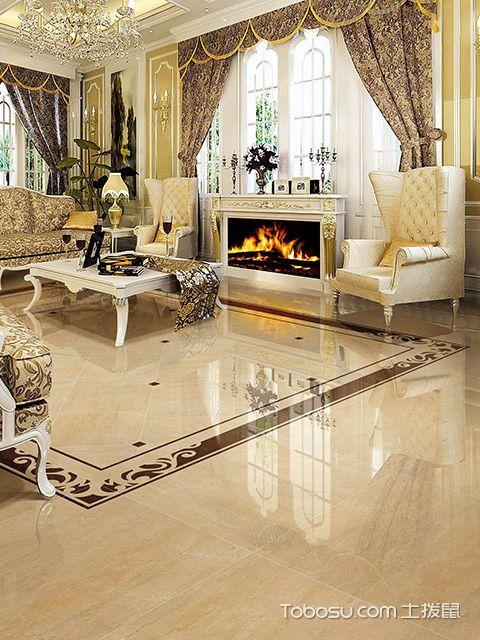 家装瓷砖铺不平的原因之贴砖时水泥砂浆比例不对