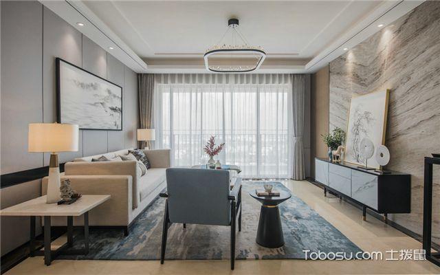 18平米四室两厅设计案例的客厅