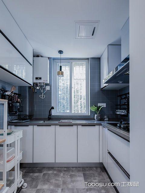 小户型简约装修效果图之厨房
