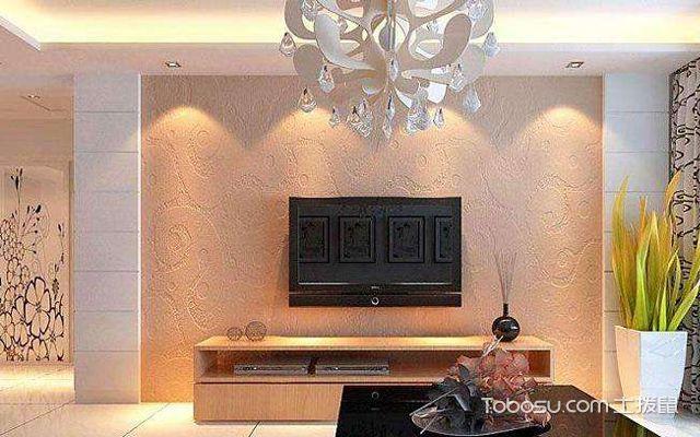 硅藻泥电视墙效果图4