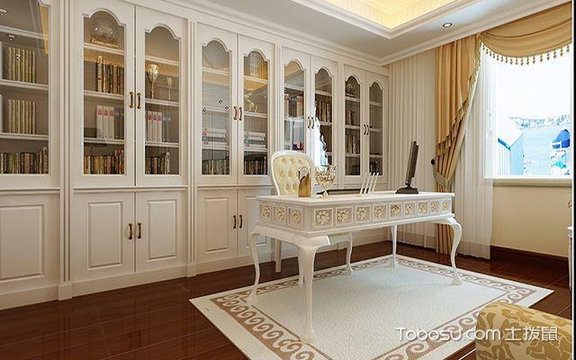 家庭书房装修细节之窗帘选择