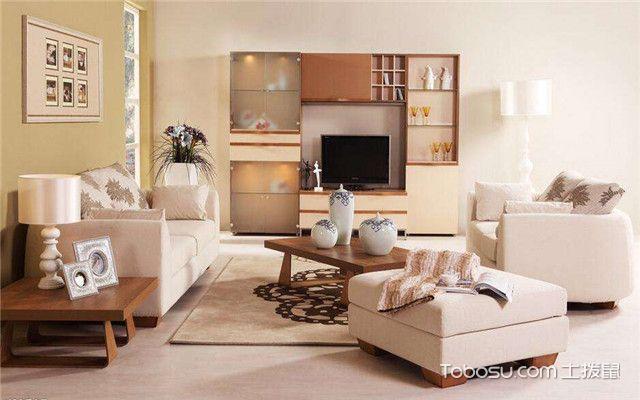 小户型客厅家具如何摆放之颜色