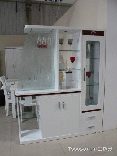厨房门口酒柜效果图