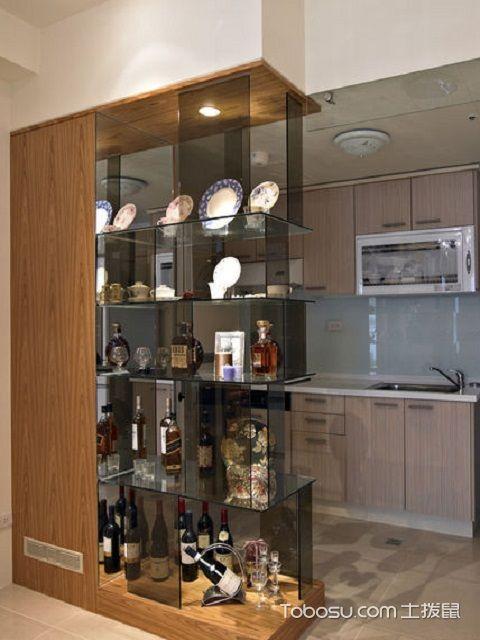 厨房门口酒柜效果图装修