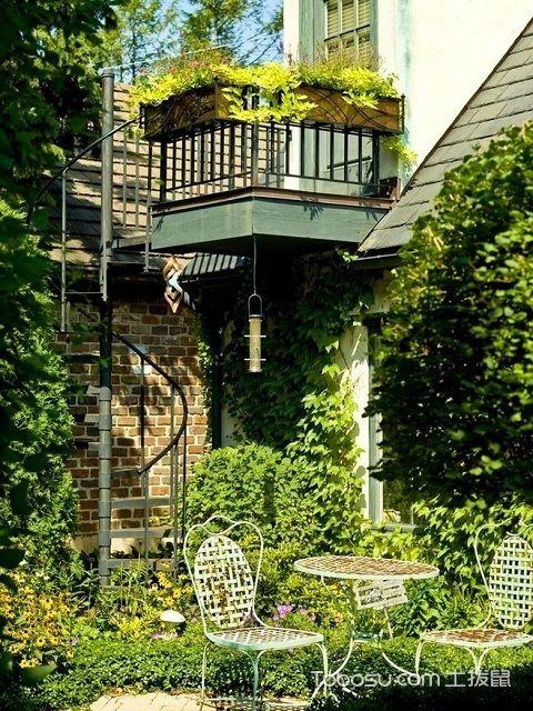 一楼小花园装修效果图设计