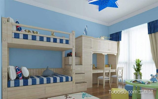 儿童房装修特点