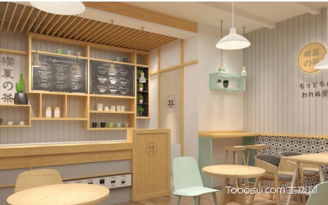 奶茶店装修风格图片 风格
