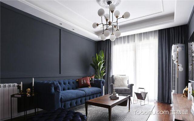 混搭客厅如何设计-背景墙
