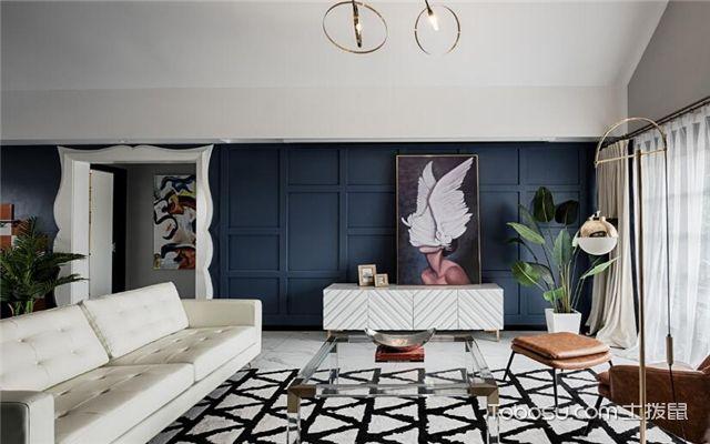 混搭客厅如何设计-地面