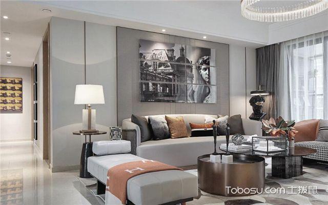 混搭客厅如何设计之装饰品