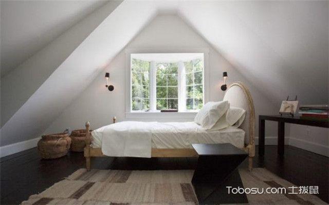 人字阁楼装修效果图之卧室