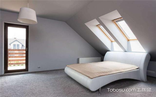 平顶层阁楼装修效果图之卧室