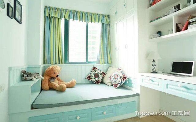 卧带飘窗装修设计图