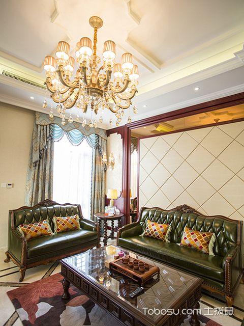 欧式装修客厅效果图之高贵欧式客厅装修
