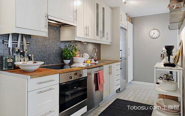 北欧风复式住宅装修效果图之厨房