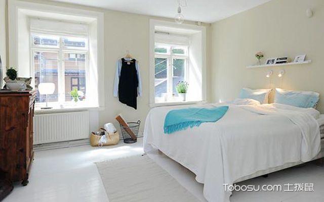 北欧风复式住宅装修效果图之卧室