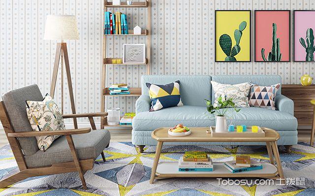 地板和家具配色技巧知识之对比色搭配