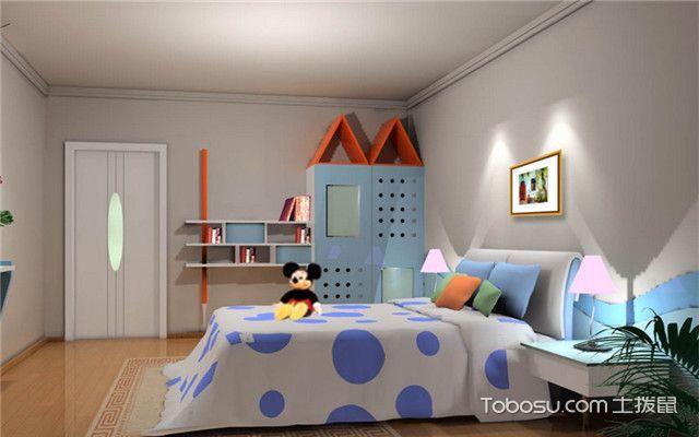 儿童房男宝宝卧室设计