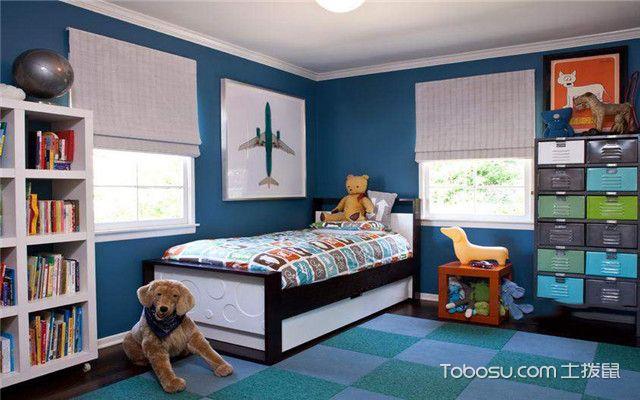 儿童房男宝宝卧室设计之抽屉式储物柜