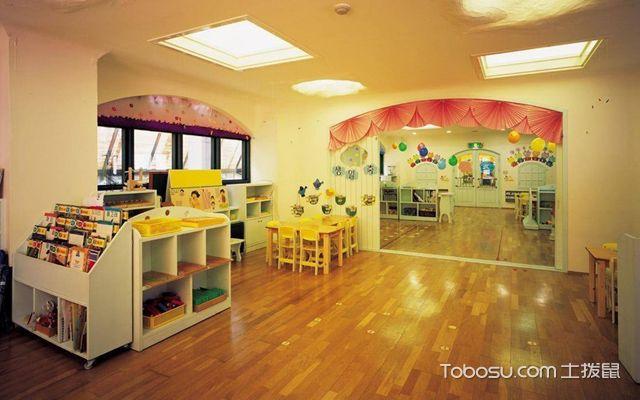 幼儿园室内地面铺什么好1