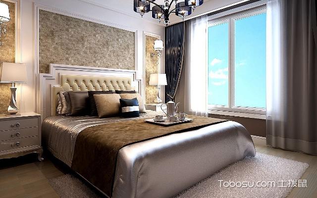 简欧风格卧室效果图 案例