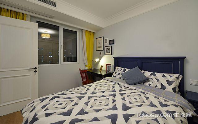 95平米两室两厅装修效果图之次卧