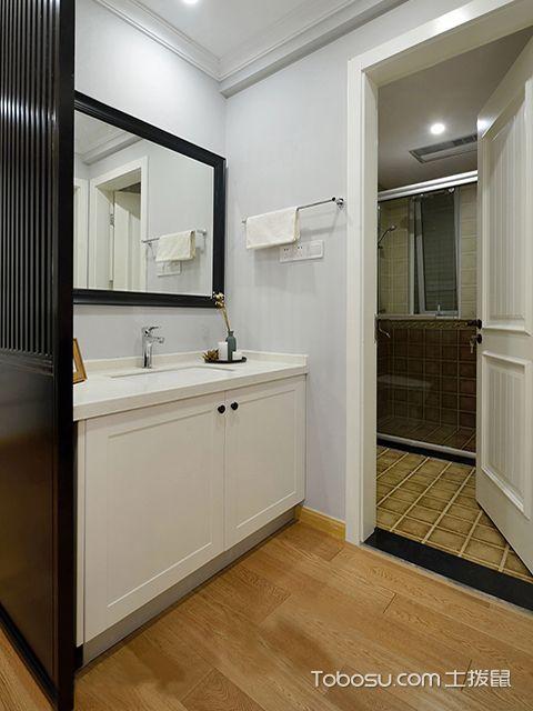 95平米两室两厅装修效果图之卫生间