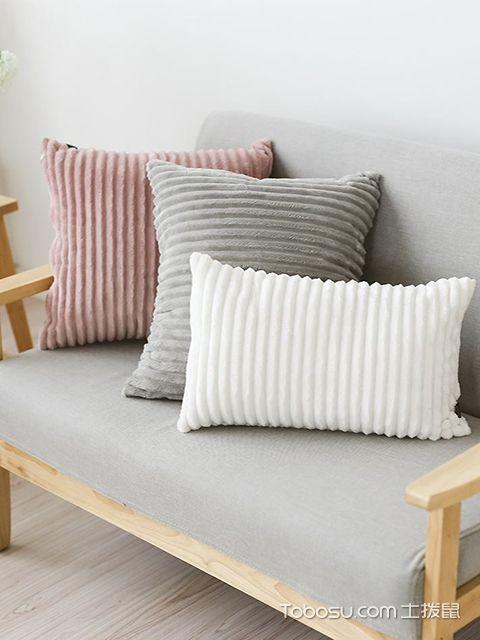 家居抱枕选购小技巧之选定抱枕的尺寸