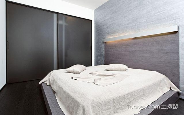 卧室装修色彩风水之黑色