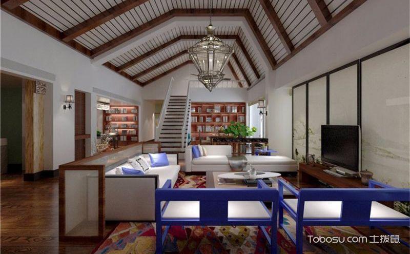 混搭风格别墅装修效果图,多样又别致的美