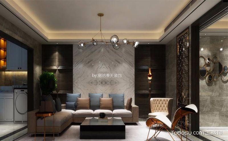 后现代风格三居室设计案例图,充满个性的家