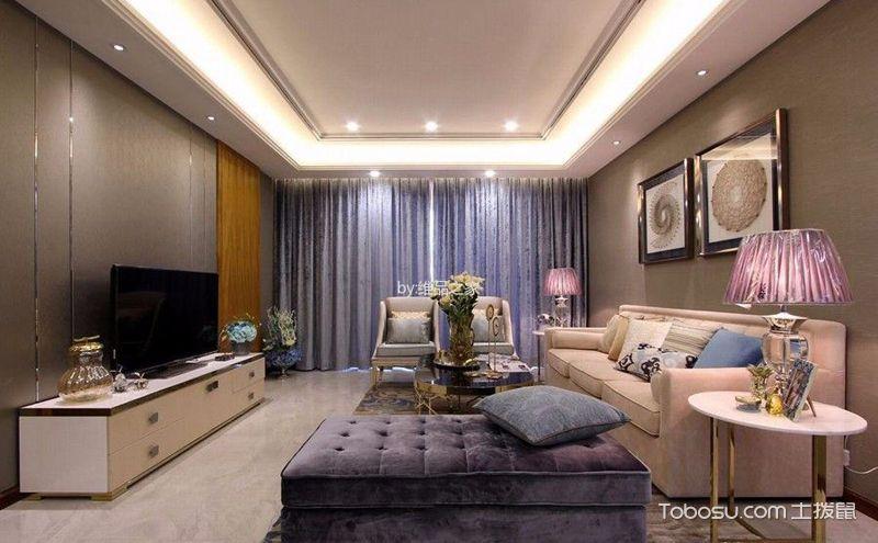欧式风格公寓装修效果图,享受优雅和华贵