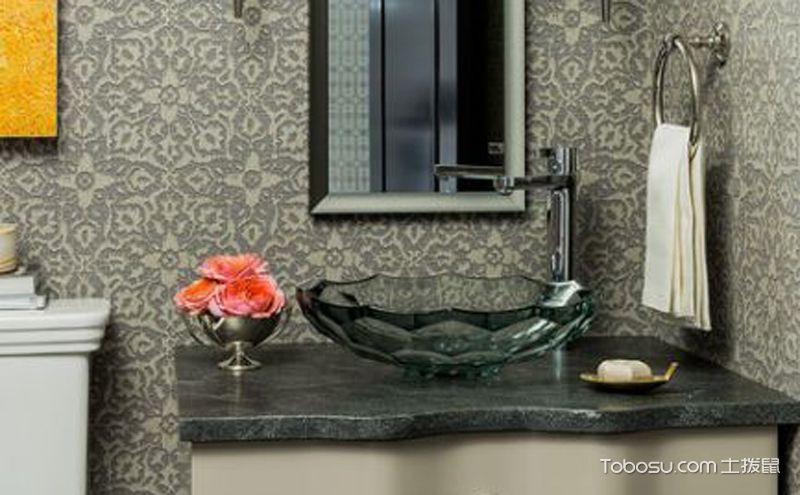 欧式风格卫生间装修效果图,简约中透着卓越的美