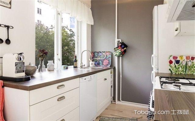 四十平米小户型装修效果图之厨房