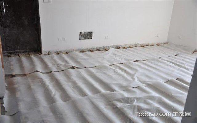 实木复合地板安装之铺防潮膜