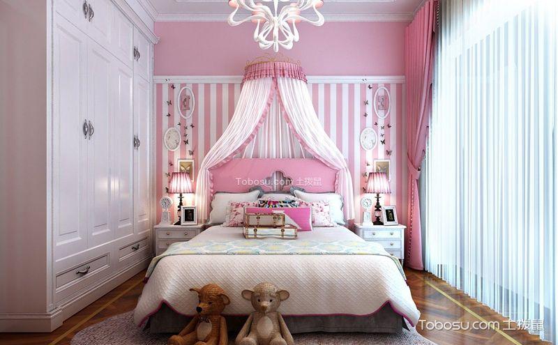 儿童卧室装饰案例,亮丽色彩欢快空间
