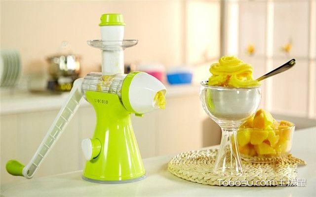 手动榨汁机怎么用之榨汁机使用注意事项