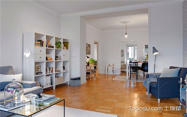 100平方商品房设计图之客厅