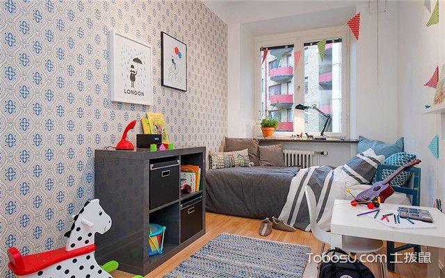 100平方商品房设计图之儿童房