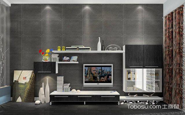 經典電視背景墻之灰色