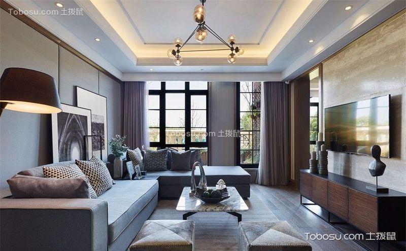 两室两厅小户型装潢实景图,雅致时尚的美家
