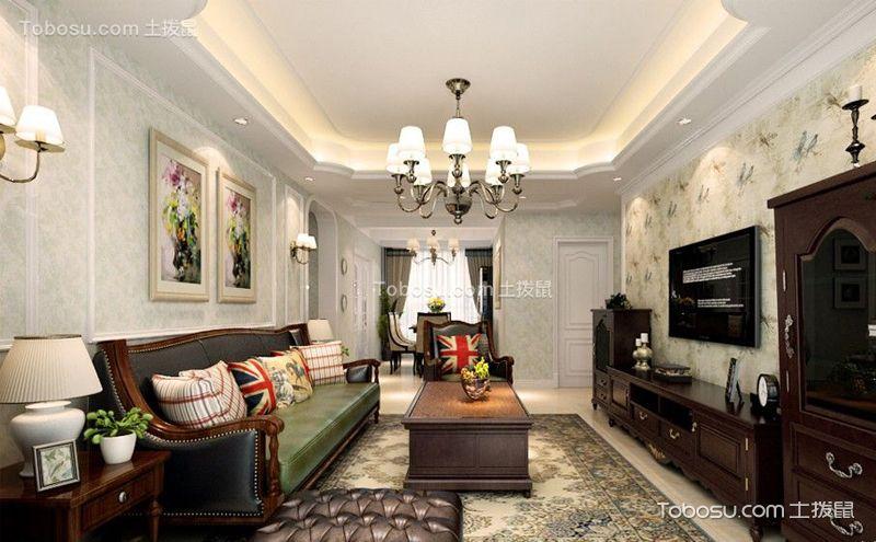 两室一厅吊顶装潢案例,八款设计的精彩PK