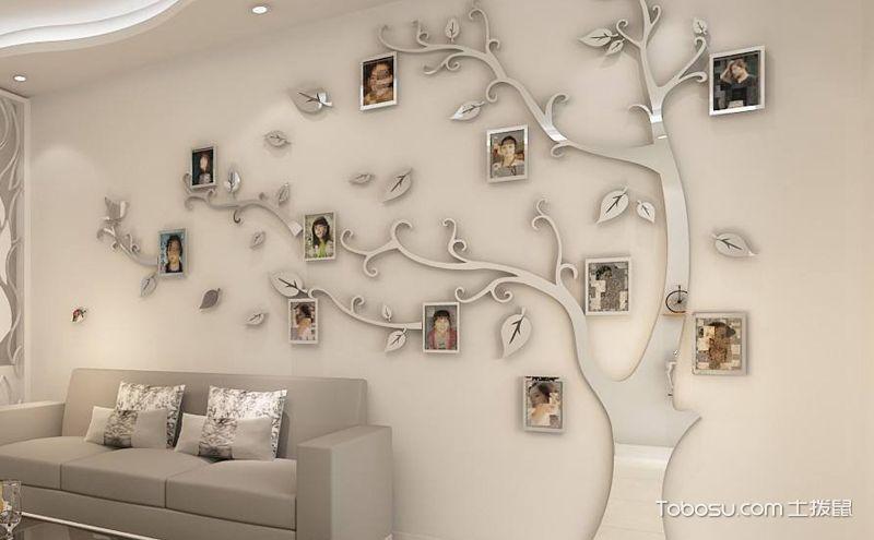 立体墙贴设计效果图,更生动更有趣