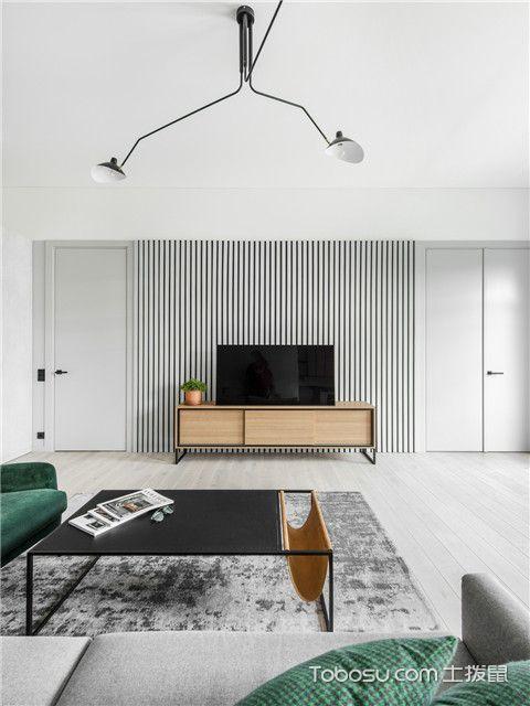 140平米商品房装修效果图之客厅设计