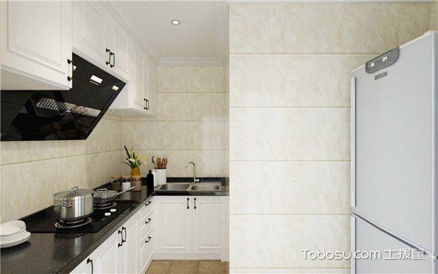 140平米商品房装修效果图之厨房设计