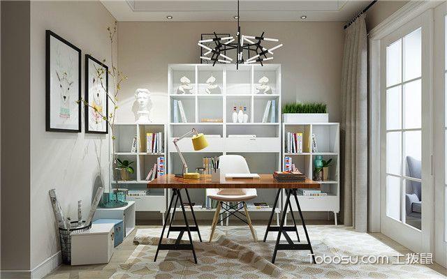 140平米商品房装修效果图之书房