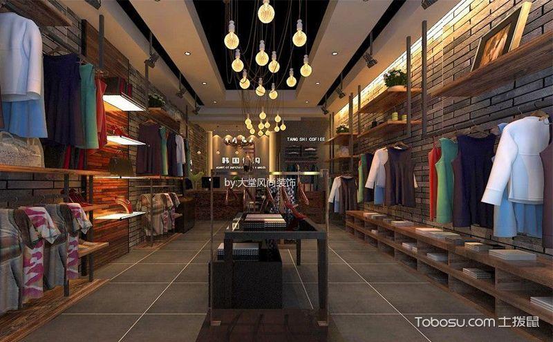 现代简约服装店装潢案例,简单随性才是时尚之道