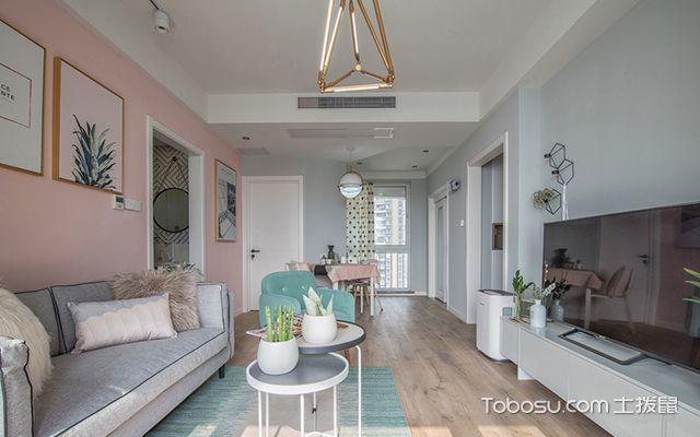 98平北欧风格两室两厅设计—空间设计